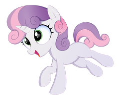 Sweetie Belle by kas92