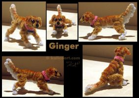 Ginger -- Pipe Cleaners by kalicothekat