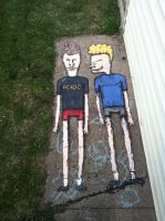 Beavis And Butthead by justinaerni