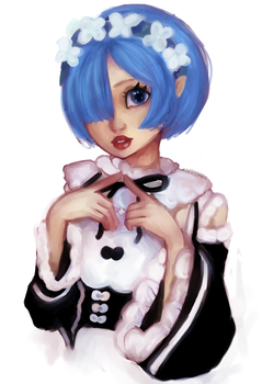 REM_FAN-ART by Alexianeee