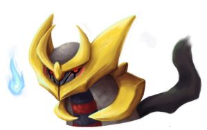 Origin Giratina Headshot by lizcakes