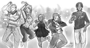 Dancing to TiK ToK by aimo