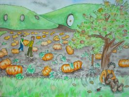 Pumpkins robbers by Feawing