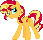 Sunset Shimmer (No Saddlebag) by ChainChomp2