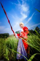 Fate/Extra: Saber Nero by josephlowphotography