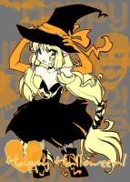 Halloween Witchy Chii by marchhare