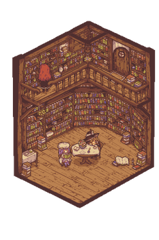 An Unmoving Library by noaqh
