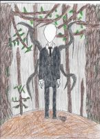 Slenderman by Wolffun00