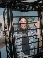 Caged Anthony by theblackrainbowSTOCK