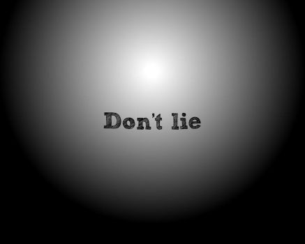Don't lie by swede