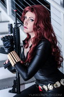 Black Widow Cosplay by Yukilefay