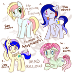 #1 Adoptables (OPEN) by Tamoqu