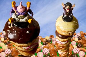 Buu loves Donuts by cathy001