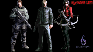 RESIDENT EVIL 6 by cristianredfield1998