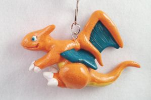 Charizard Necklace by omfgitsbutter