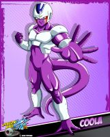 DBKai card #12 Coola by Bejitsu