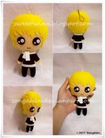 Nickhun Plushie.. by SongAhIn