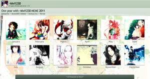 2011 Art Summary by kivi1230