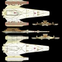 Heracles Class Mk2-5 view by Roguewing