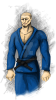judo guy concept by 333444555