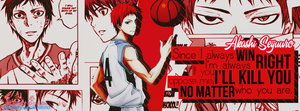 [Quotes - Cover] Happy Akashi Seijuurou's Day :* by KrystalLam