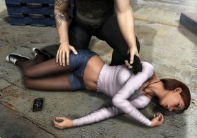 Amanda Jones - Caught and Zapped by Torqual3D