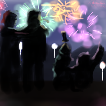 Happy new year! :D by SubSpace-Frost