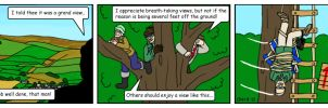 Summer Wine Comic 40 by MST3Claye