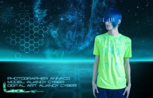 Synthetic Space (Tron) 01 by Alkinoy