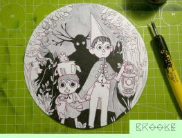 Over the garden wall by Brookkey