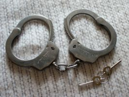Hand Cuffs 001 by Zeds-Stock