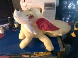 Updated Fennekin Plushie (Pic 1) by KahleyCreations