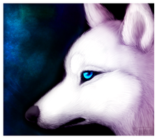 White Wolf by Smushey