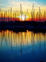 Howth Sunset B by superflyninja