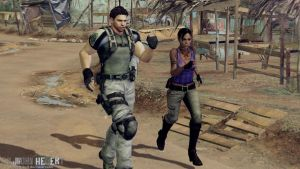 Chris and Sheva - Resident Evil 5 by JhonyHebert