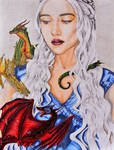 The Mother of Dragons by TheRedMeadows
