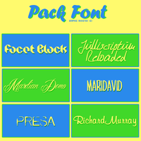 Fonts Pack#28 by GraphicAddicted
