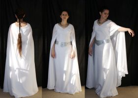 Leia Throne Room Dress by aelthwyn