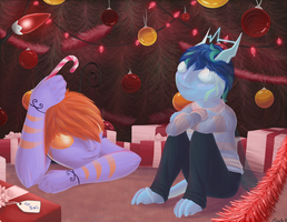 Christmas with my Dad by o-Pirate-o