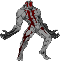 Nero Chaos Trans hi-res sprite by ZeroShadowProject