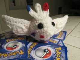 Togekiss Plushie by Kisses-or-Stitches