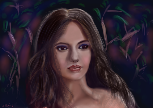 Nina Dobrev revised by shmuckwolf