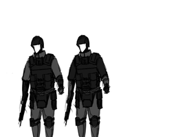 Ryesian Armour Variant Comparison by SirRinge