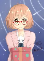 The Gift from Mirai by rkyvius