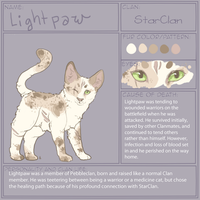 Lightpaw (StarClan) by EnchantedTopaz