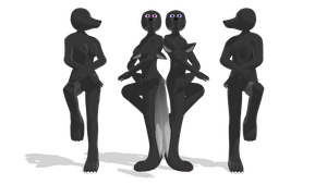 mmd par dl : furry dog bases  male/female by Waltervd