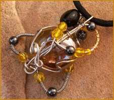 Deathly Hallows Pendant III by balthasarcraft