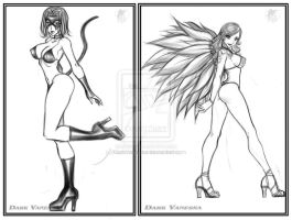 Sketch Commissions- Set3 by DarkVanessaLusT