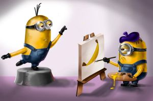 Minions by CrystinaPie