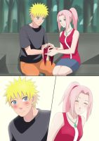 Narusaku-Commission by Atharple